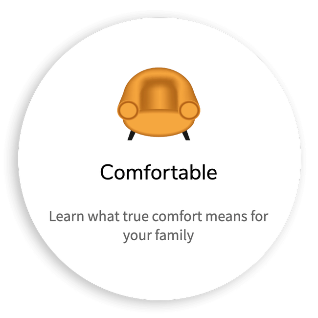 Learn what true comfort means for your family